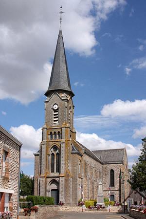 Eglise St Medard st colmont