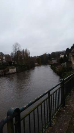 Ambrieres river Jan 2018