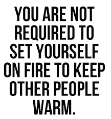 dont set yourself on fire image
