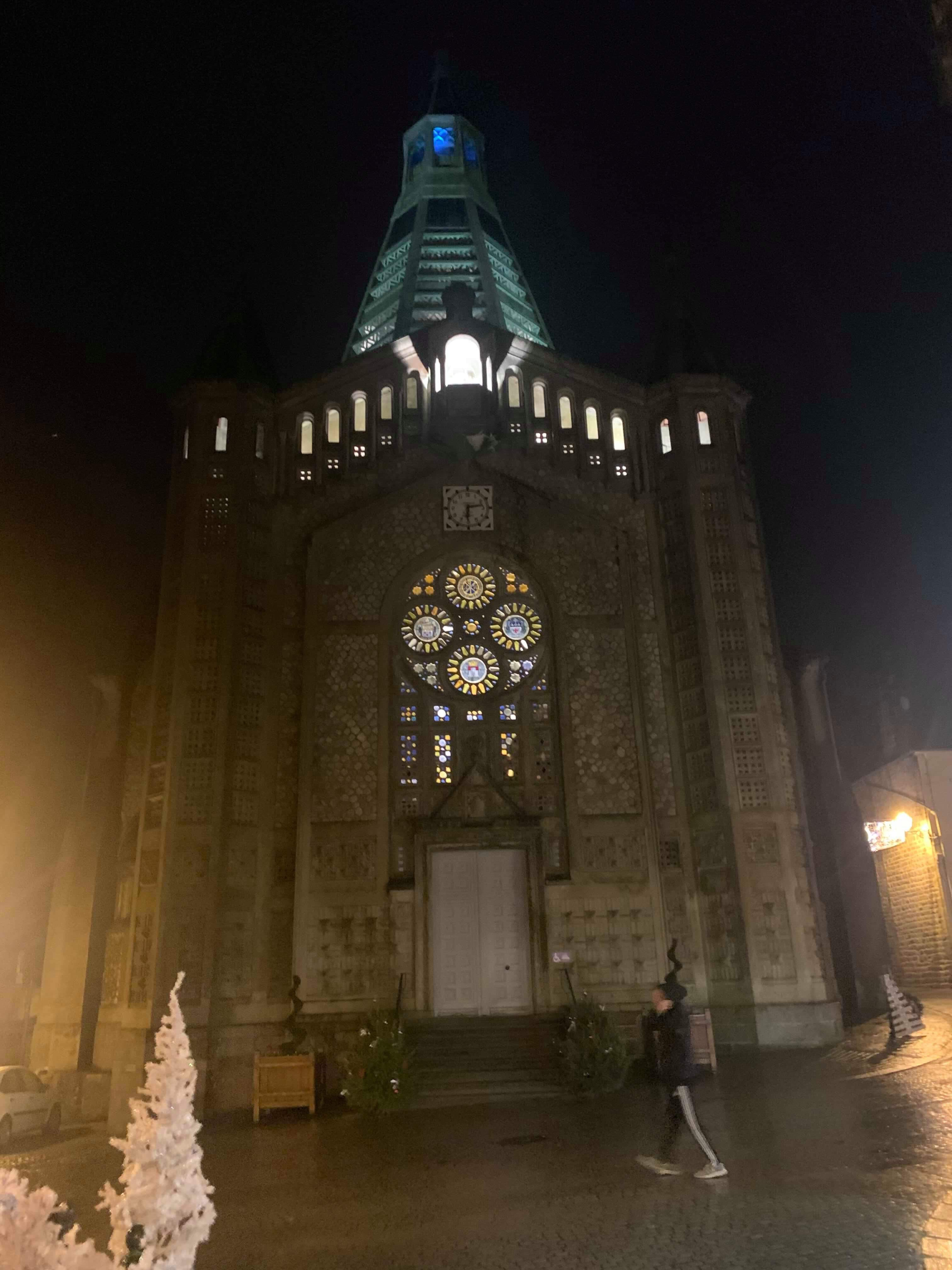 cathedral in Domfront France